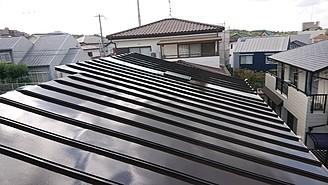 神戸市戸建て屋根塗装完了